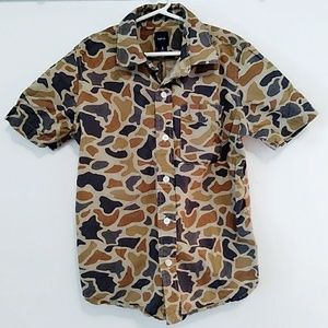 Boys Camouflage Shirt